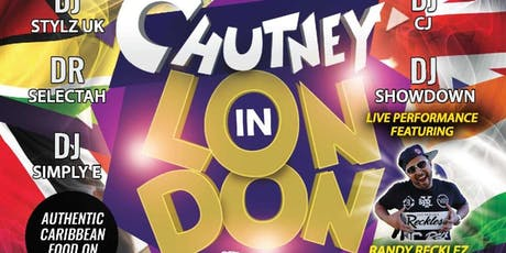"CHUTNEY IN LONDON ""ROLL UP D'TASSA"" tickets"