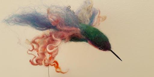 Needle Felting Workshops - Beautiful Birds (Adult Course)