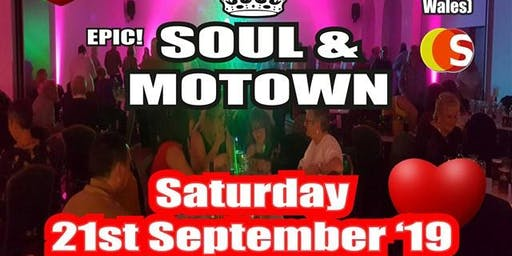 Epic Soul & Motown with Gary Carr 21st September