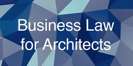 Business Law for Architects: Setting up Your Practice tickets