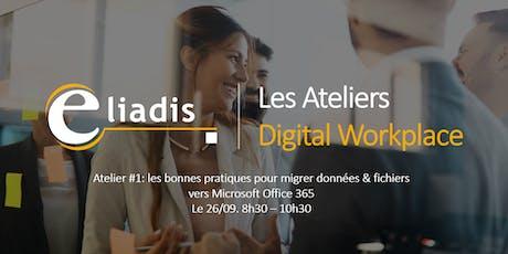 Atelier Digital Workplace | Migrez vos données, fichiers et applications vers Microsoft Office 365 billets