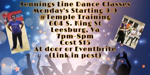 Jennings Line Dance classes!!