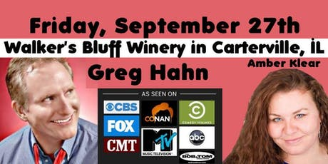 Stand Up Comedy at Walker's Bluff - Greg Hahn tickets