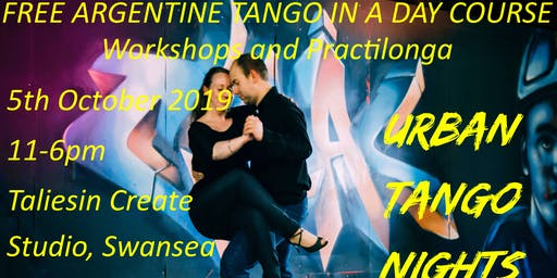 Free Argentine Tango in a Day Course: Workshops and Practilonga