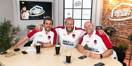 JOE presents - LIVE House of Rugby Podcast! tickets