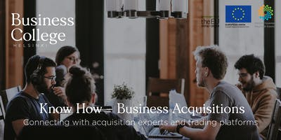 Networking with Business Acquisition Experts