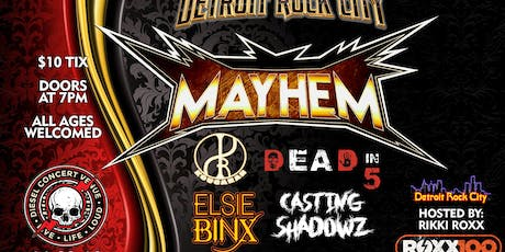 Detroit Rock City Mayhem '19 tickets