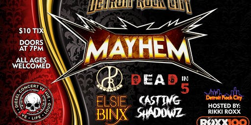 Detroit Rock City Mayhem '19