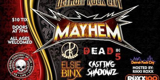 Detroit Rock City Mayhem '19