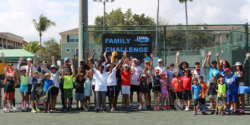 Family Tennis Fun Day at the USTA National Campus