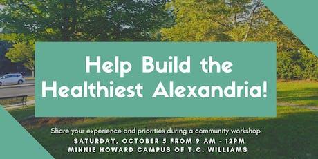 Alexandria's Community Health Workshop tickets