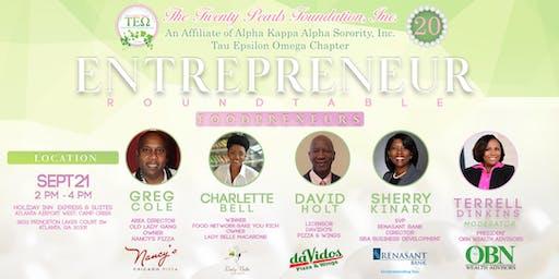 Entrepreneur Roundtable: Foodpreneurs