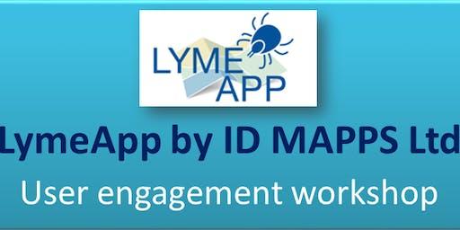 LymeApp project - user engagement workshop