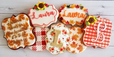Hand Lettering, Airbrush and Stenciling Cookie Workshop - Spring Hill