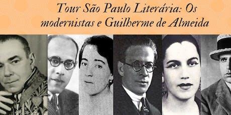 Tour São Paulo Literária: Os Modernistas ingressos