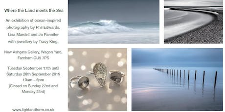 Where The Land Meets The Sea - Photography and Jewellery Exhibition tickets