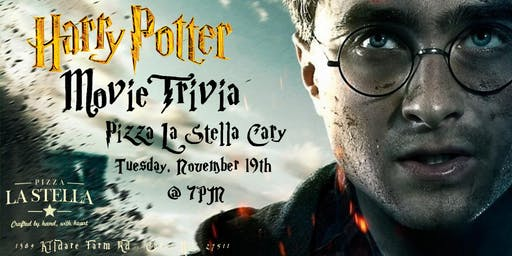 Harry Potter (Movies) Trivia at Pizza La Stella Cary