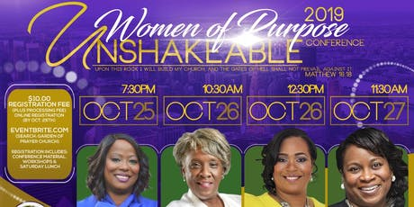 2019 Women of Purpose Conference  tickets