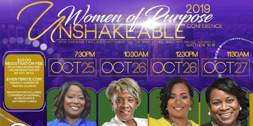 2019 Women of Purpose Conference