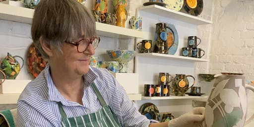 Ceramics masterclass with Sophie MacCarthy