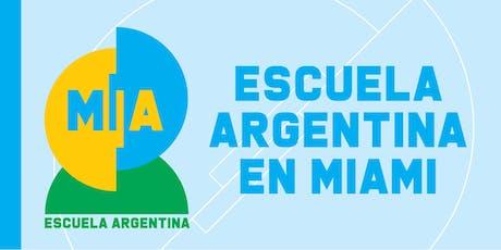 Presentación: ESCUELA ARGENTINA MIA tickets