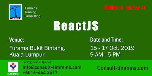 React JS in Kuala Lumpur