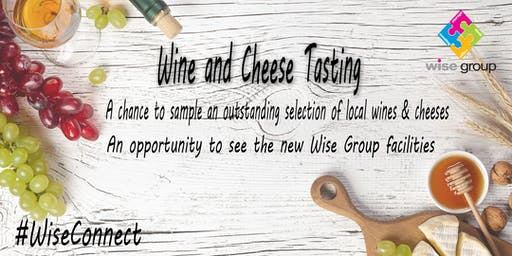 Wine and cheese tasting networking  #WiseConnect