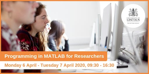 Programming in MATLAB for Researchers