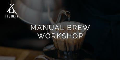 Manual Brew Workshop by THE BARN Berlin tickets