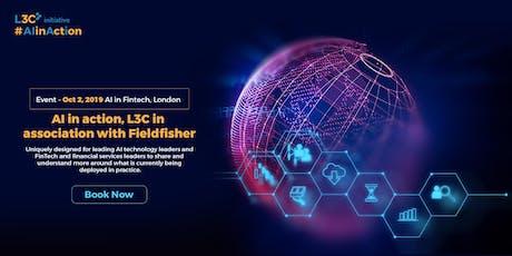 L3C: AI In Fintech tickets