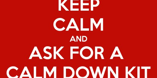 Create a CALM DOWN KIT- Sensory Strategies for Adults