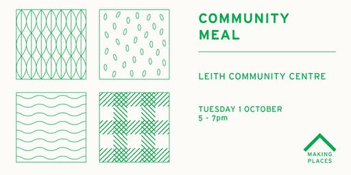 Community Meal: Leith Community Centre