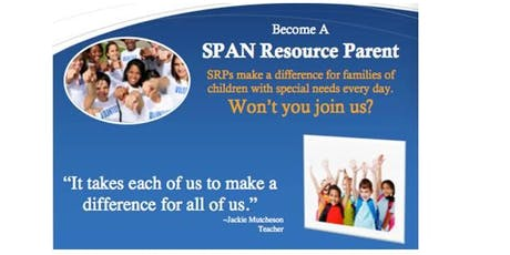 SPAN Presents: Becoming a SPAN Resource Parent (North)Fall 2019 tickets