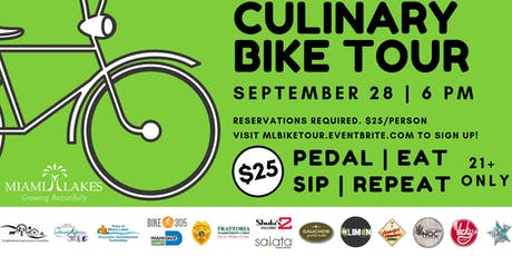 Culinary Bike Tour  tickets