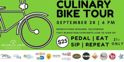 Culinary Bike Tour