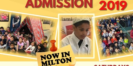 Amjad School Registration ( Mississauga And Milton) tickets
