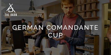 German Comandante Cup Tickets
