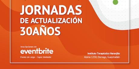 """Jornadas de Actualización """"30 Años Naranjito"""" entradas"""