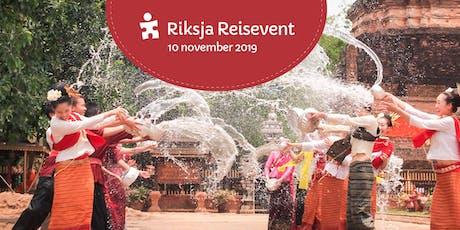 Riksja Reisevent 2019 tickets