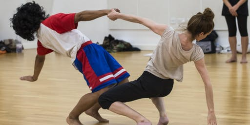 Intermediate level dance masterclasses for adults at Studio Wayne McGregor
