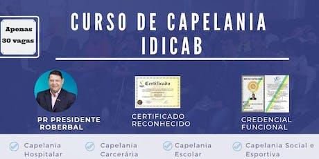 CURSO INTENSIVO DE CAPELANIA PARA MULHERES ingressos