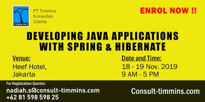 Developing Java Applications with Spring & Hibernate in Jakarta