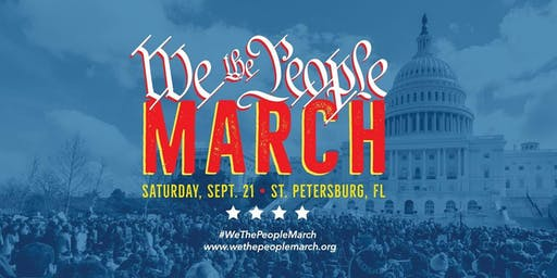 We The People March St. Petersburg, FL