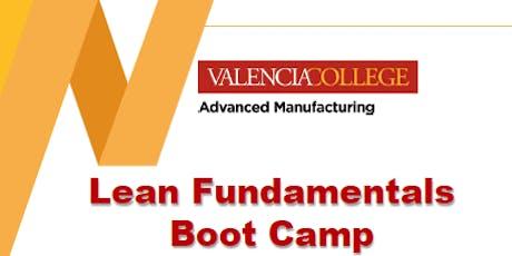Lean Fundamentals (Boot Camp) tickets