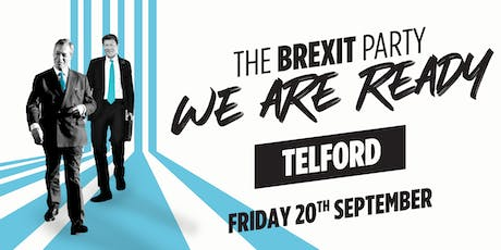 The Brexit Party⁠ — Telford tickets