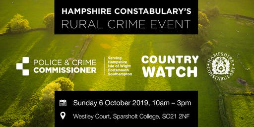 Hampshire Constabulary's Rural Crime Event