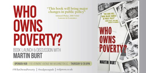 Who Owns Poverty? Book Launch and Discussion with Martin Burt
