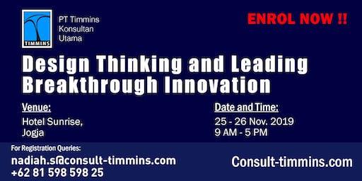 Design Thinking and Leading Breakthrough Innovation in Yogyakarta