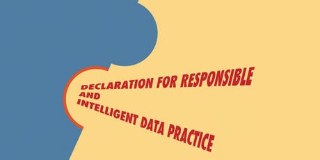 Towards a Declaration for Intelligent and Responsible Data Use #4 - civil society & voluntary sector organisations tickets
