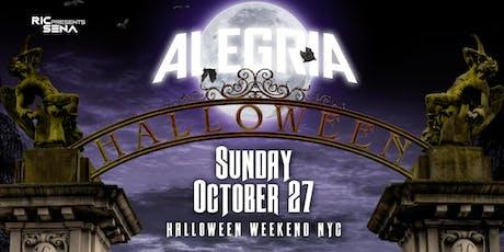 ALEGRIA HALLOWEEN 16 tickets